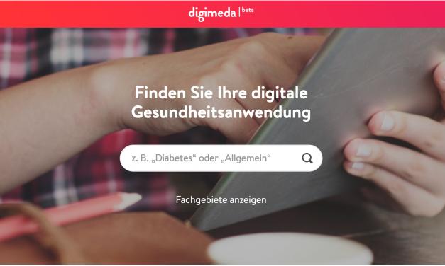 Digitale Anwendungen für deine Krankheit gesucht?